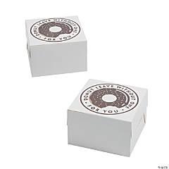 Square Donut Favor Boxes