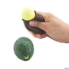 Squeeze-A-Dohz Avocado Toys