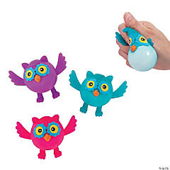 Squeeze-A-Dohz Owl Toys