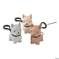 Squeeze-A-Dohz Squishy Bulldog Keychains