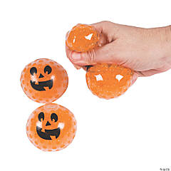 Squishy Water Beads Pumpkin Balls