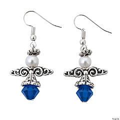 St. Blue Angel Earrings Craft Kit