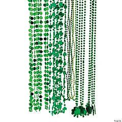 St. Patrick's Beaded Necklace Assortment