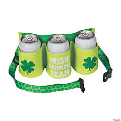 St. Patrick's Day Beer Belt