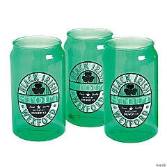St. Patrick's Day Can-Shaped Cups