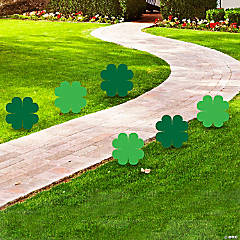 St. Patrick's Day Clover Yard Signs