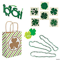 St. Patrick's Day Deluxe Cheer Bags Kit for 12