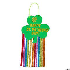 St. Patrick's Day Glitter Hanging Sign Craft Kit
