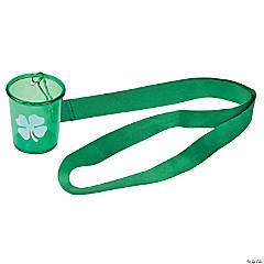 St. Patrick's Day Lanyard Shot Glasses