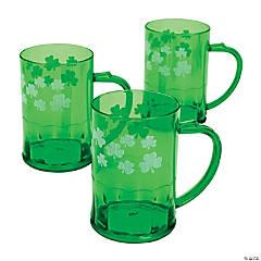 St. Patrick's Day Plastic Mugs