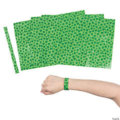 St. Patrick's Day Printed Wristbands