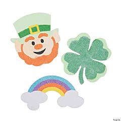 St. Patrick's Day Sand Art Magnets