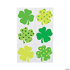 St. Patrick's Day Shamrock Temporary Tattoos