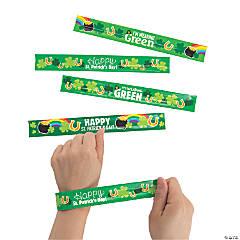 St. Patrick's Day Slap Bracelets