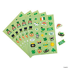 St. Patrick's Day Sticker Sheets