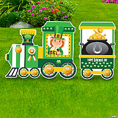 St. Patrick's Day Train Yard Sign Set