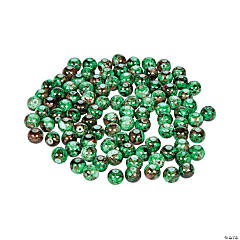 St. Patrick's Green Marble Beads