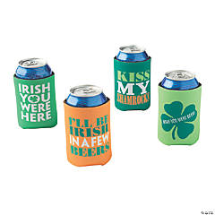 St. Patrick's Day Can Covers