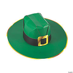 St. Patrick's Day Cardstock Cowboy Hats