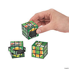 St. Patrick's Day Mini Puzzle Cubes