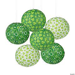 St. Patrick's Day Prints Hanging Paper Lanterns