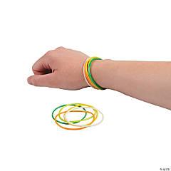 St. Pat's Jelly Bracelets