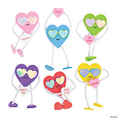 Stand-Up Valentine Hearts Craft Kit