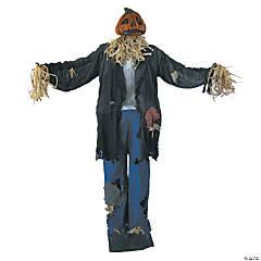 Standing Scarecrow Man Halloween Decoration