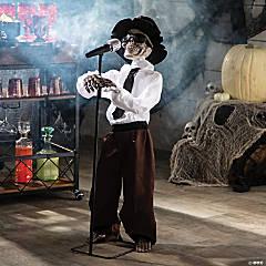 Standing Singing Skeleton