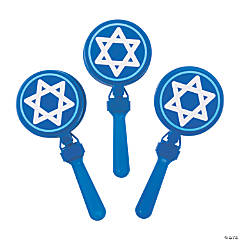 Star of David Hand Clappers