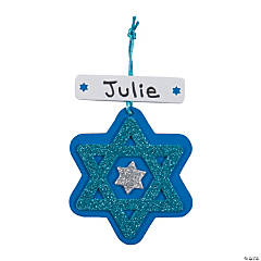 Star of David Ornament Craft Kit