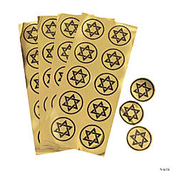 Star of David Seal Stickers