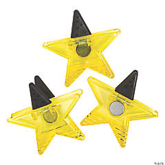 Star-Shaped Clip Magnets