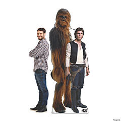 Star Wars™ 40th Anniversary Edition Han Solo & Chewbacca Stand-Up
