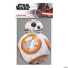 Star Wars™ BB-8 Invitations - 8 Pc.