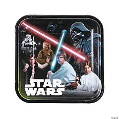 Star Wars™ Classic Square Paper Dinner Plates