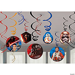 Star Wars™ Episode VII: The Force Awakens Swirl Decorations - 12 Pc.