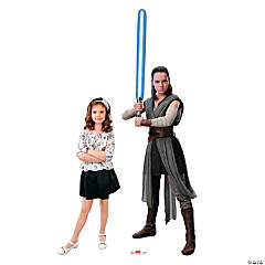 Star Wars™ Episode VIII: The Last Jedi Rey Cardboard Stand-Up