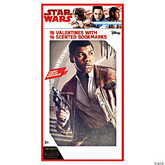 Star Wars™ Episode VIII: The Last Jedi Scented Bookmarks with Valentine's Day Cards