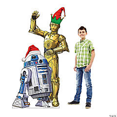 Star Wars™ R2D2 & C3PO Holiday Outdoor Yard Sign