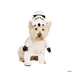 Star Wars™ Stormtrooper Dog Costume - Extra Large