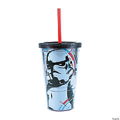 Star Wars™ Stormtrooper Cold Cup with Lid, Straw & Ice Cubes