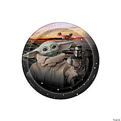 Star Wars™ The Mandalorian™ Dessert Plates – 8 Ct.