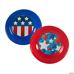 Stars & Stripes Patriotic Flying Discs