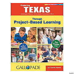 State Studies Project Based Learning Book - Texas