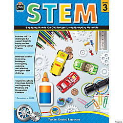 STEM: Engaging Hands-On Challenges Using Everyday Materials, Grade 3