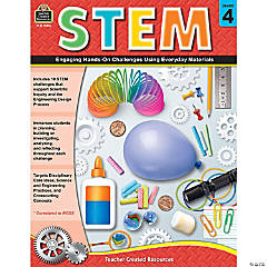 STEM: Engaging Hands-On Challenges Using Everyday Materials, Grade 4
