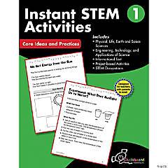 STEM Instant Activities Workbook, Grade 1