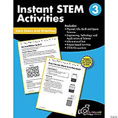 STEM Instant Activities Workbook, Grade 3