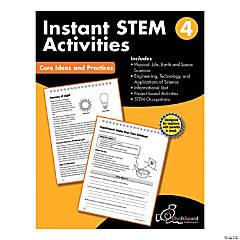 STEM Instant Activities Workbook, Grade 4
